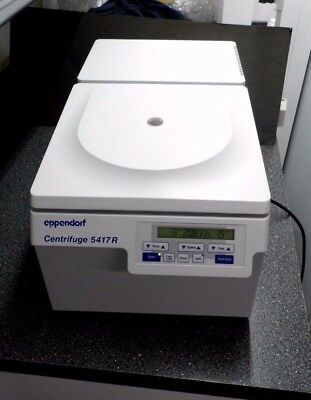 Eppendorf 5417R Refrigerated Benchtop Microcentrifuge & F45-30-11 30 Place Rotor