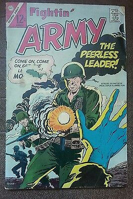 LOT OF 4 COMICS Fightin' Army (2), The Story of America & Fighting Forces Losers