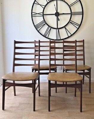 Mid Century Dinning Chairs, Retro, Vintage, 1960s