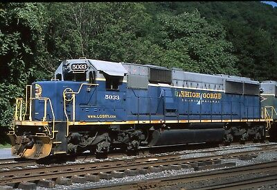 Original Slide: Reading & Northern / Lehigh Gorge Scenic SD50 5033