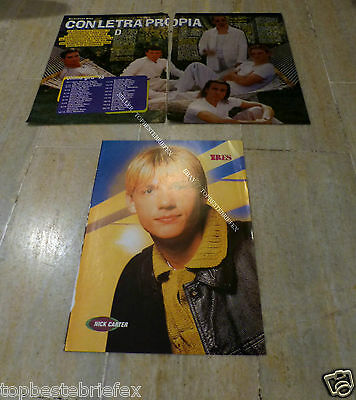 Backstreet Boys Clipping Page #68 Nick Carter
