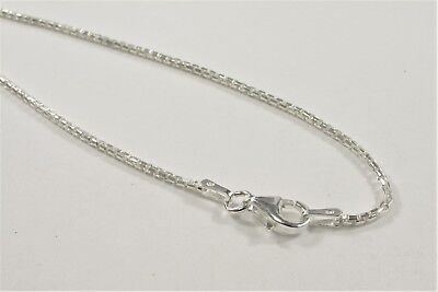 18 inch .925 Sterling Silver Chain Necklace,Genuine Solid Sterling Silver (#625)