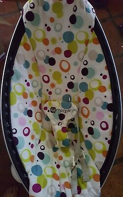 FABRIC ONLY - 4moms MAMAROO Rocker multicolo Plush Fabric Seat Cover Replacement
