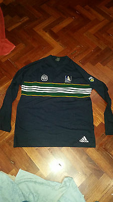 Rare Adidas Australia Touring Cricket Player Issued top Large.