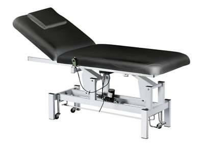 1 MOTOR BED Medical Examination Therapy Bed Physiotherapy Table Black Pro AUS