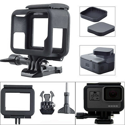 Frame Mount Cover Protector Housing Case+Lens Cover for GoPro Hero 5 Session New