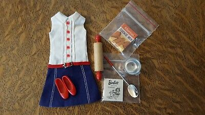 "Vintage Skipper Fashion ""Cookie Time"" Mint & Complete! 1965-66"