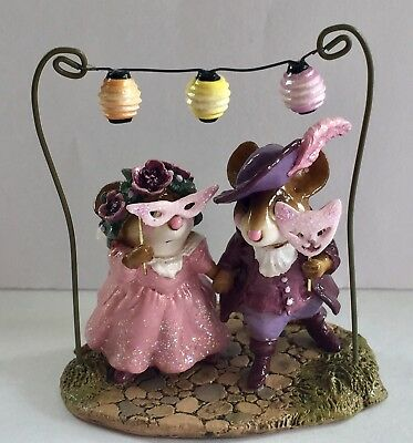 Wee Forest Folk Strolling Through The Seasons Halloween Ball  Purple 1/250