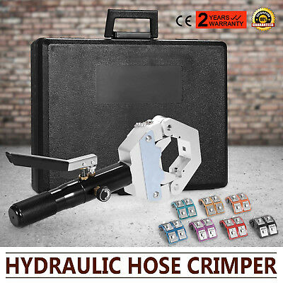 New A/C AIR Condtioning Hydraulic Hose Crimper Tool Crimping Machine Kit .
