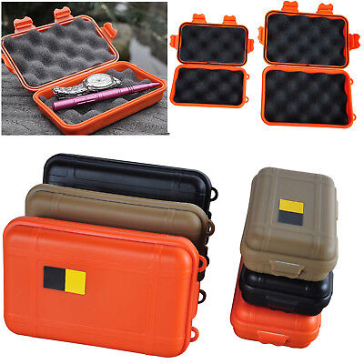 Survival Plastic Airtight Waterproof Container Storage Carry Box Case Outdoor