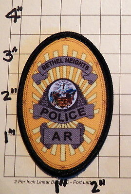 Bethel Heights (AR) Police Department Patch            ***NEW***