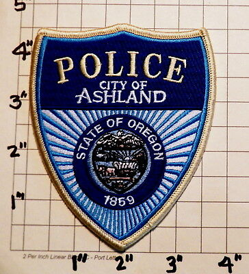 City of Ashland (OR) Police Department Patch  -  1859     ***NEW***