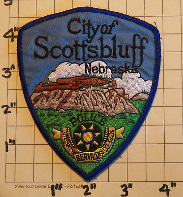 City of Scottsbluff (NE) Police Deapartment Patch