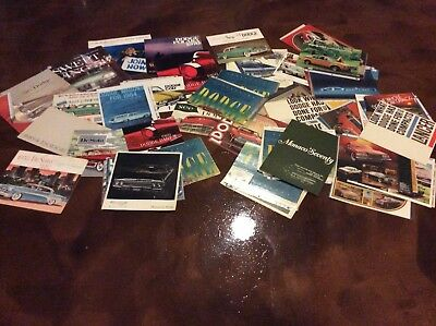 DODGE DESOTO 1950 -1970 s BROCHURE CATALOG LARGE LOT OF 60+ NO RESERVE