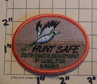 SOUTH DAKOTA Department of Game, Fish & Parks HUNT SAFE Patch          ***NEW***