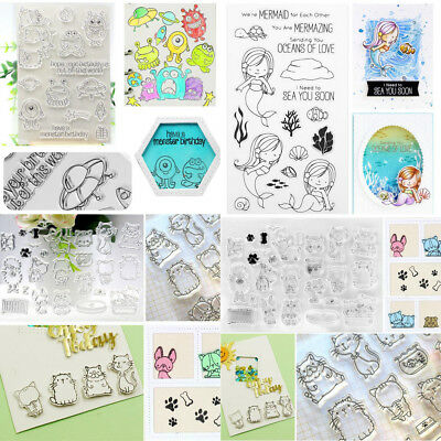 Transparent Clear Stamps For DIY Scrapbooking Decorative
