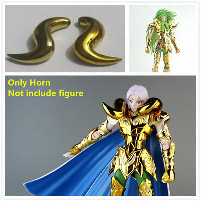 Saint Seiya Cloth Myth metal smooth horn  for Bandai EX Gold Aries Mu Shion