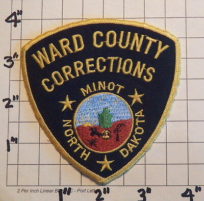 Ward County (Minot,ND) Corrections Department Patch