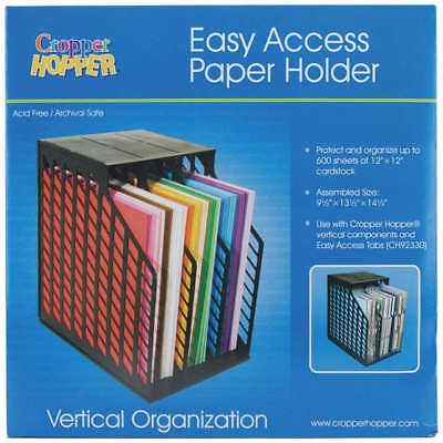 "Storage Studios Easy Access Paper Holder 14.25""X9.5""X13.5"" CH92579"