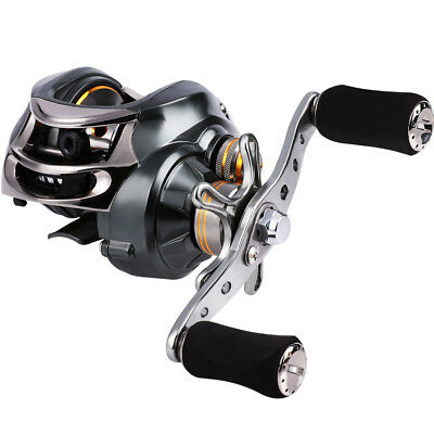 Casting Fishing Reel Left Right Hand for Saltwater Freshwater Bass Boat Reels