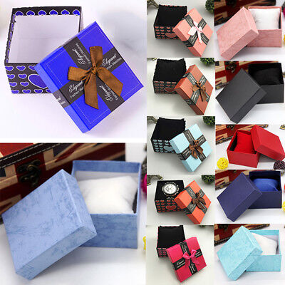 New Durable Presentation Gift Box Bracelet Bangle Jewelry Wrist Watch Boxes