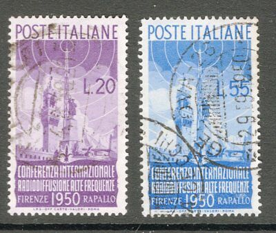 Italy 1950 Radio Conference set inc. sg 750 cv £190 see scans x 2