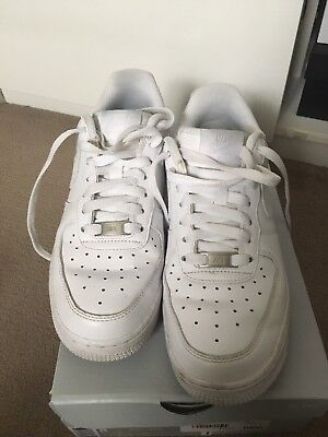 nike air force 1 white Womens (size 8)