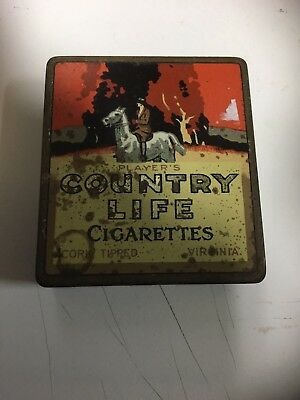 Country Life Vintage Tobacco Tin
