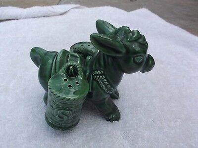 Vintage Collectable Donkey Salt & Pepper Shakers