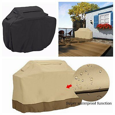 BBQ Cover Outdoor Waterproof Barbecue Cover Garden Patio Gas Grill Protector