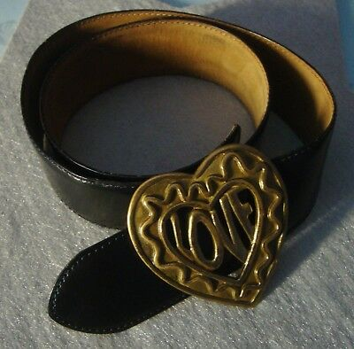 BELT cintura vintage woman MOSCHINO made in Italy RARE