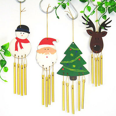 Pop DIY Paint Your Own Holz Wind Chime Holz Windchime Kids Dekor  ST