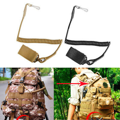 Elastic Lanyard Buckle Military Tactical Pistol Sling Adjustable For Gun