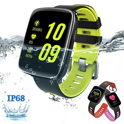 GV68 Smart Watch Waterproof IP68 Heart Rate Sleep Monitor BT For Android Iphone