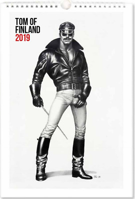 Tom of Finland Wall Calendar 2018 23x34 cm FINLAND *NEW