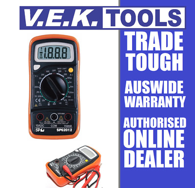 Sp Tools Digital Multimeter-Automotive-Electrical-Technicians-Sp62012