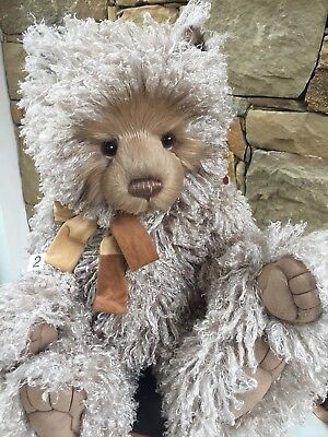 Curly 2 Large 46cm Charlie Bears Teddy Bear 2017 Collection New Release