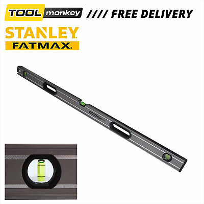 "STANLEY Spirit Level FatMax Box Beam Spirit Level 3 Vial 120cm 48"" STA04348"