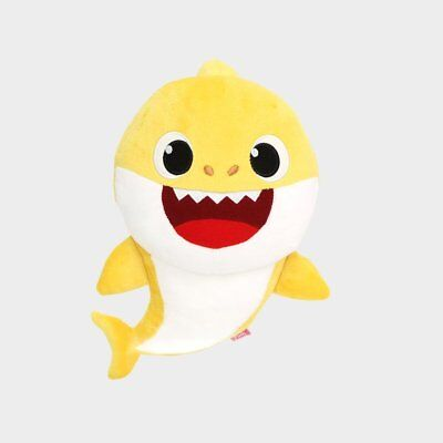 PINKFONG Baby Shark Official Singing Plush Sound Doll Korean Song 3000 plays 3Y+