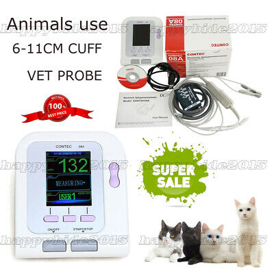US SELLER CONTEC08VET Veterinary Digital Blood Pressure Monitor, NIBP