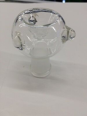 14mm Female round clear bowl thick fast free shipping