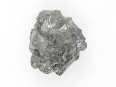 Natural Loose Silver Gray Color 0.90 Ct Very Sparkling Raw Diamond