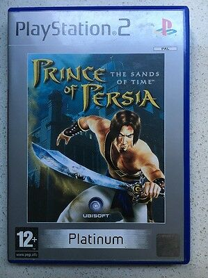 PlayStation 2 Game PRINCE OF PERSIA -THE SANDS OF TIME ( COMPLETE )