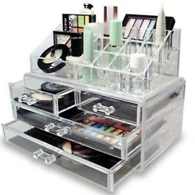 Contenitore Espositore Box Trucco Organizer Porta Cosmetici Make Up Rossetto *l*