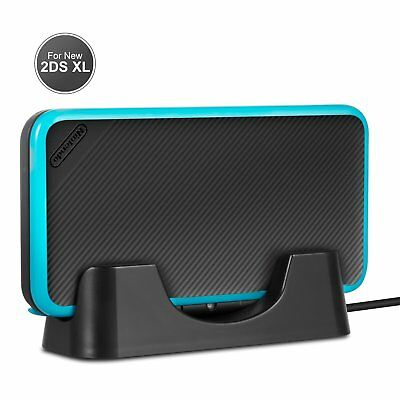 New 2DS XL LL 2017 Charging Dock Station Charger For Nintendo NEW 2DS LL XL