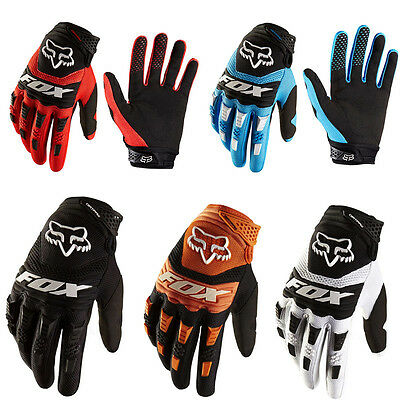 UK FOX DIRTPAW Motocross MTB Gloves Offroad Cycling Bicycle Racing Full Finger