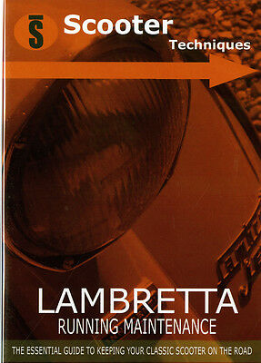 Lambretta Running Maintenance DVD