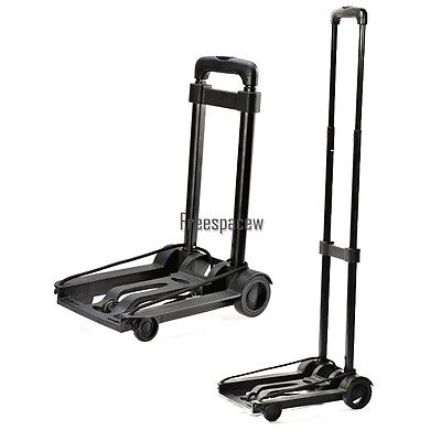 New Folding Flatbed Folding Trolley Platform Cart Platform Truck Luggage FPAW01