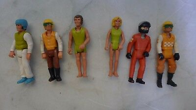 """6 x 4"""" Fisher Price Adventure People circa 1974. Need a gentle clean is all!"""