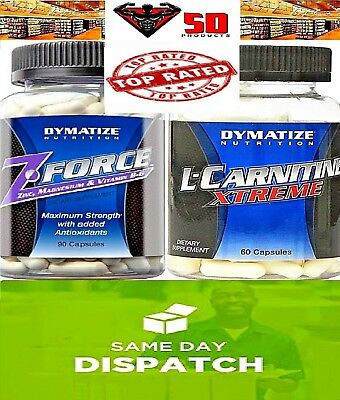 Dymatize Nutrition -  You Choose :  Z·Force 90 ct  or  L-Carnitine Xtreme 60 ct